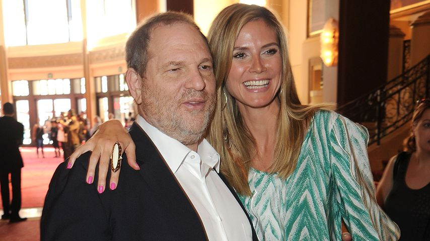 Harvey Weinstein und Heidi Klum in Los Angeles 2011