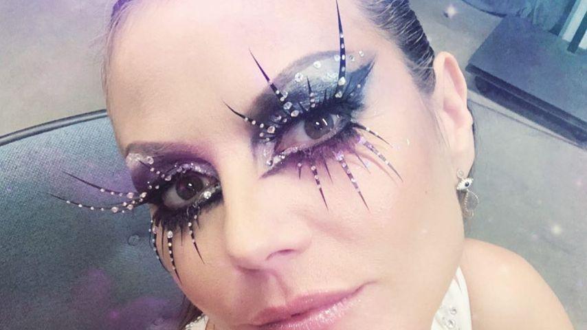 """Heidi Klum zeigt schillerndes Make-up für """"Queen of Drags"""""""