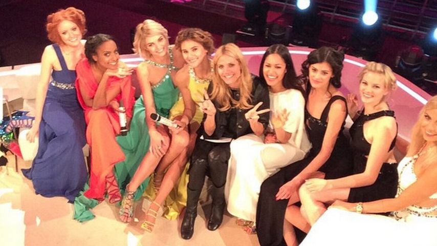 GNTM-Reunion! Heidi Klum & all ihre Model-Mädels