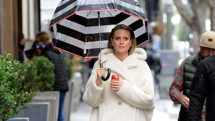 "Heidi Klum am Set von ""Germany's next Topmodel"""