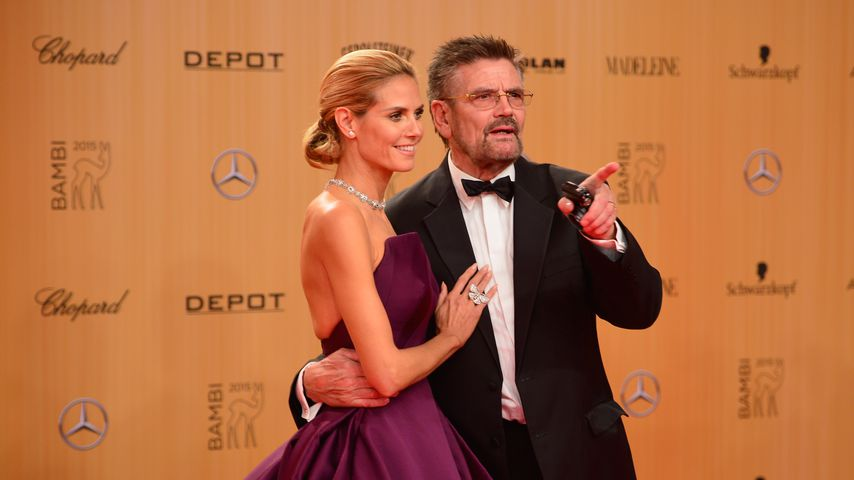 Gerüchte um Heidi & Toms Hochzeit: Nun äußert sich Papa Klum