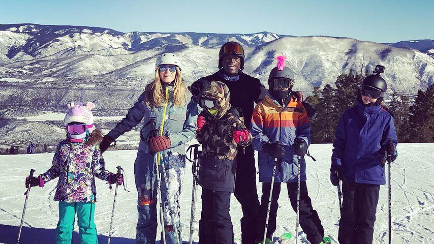 Heidi Klum mit ihren Kids und Ex-Mann Seal in Aspen