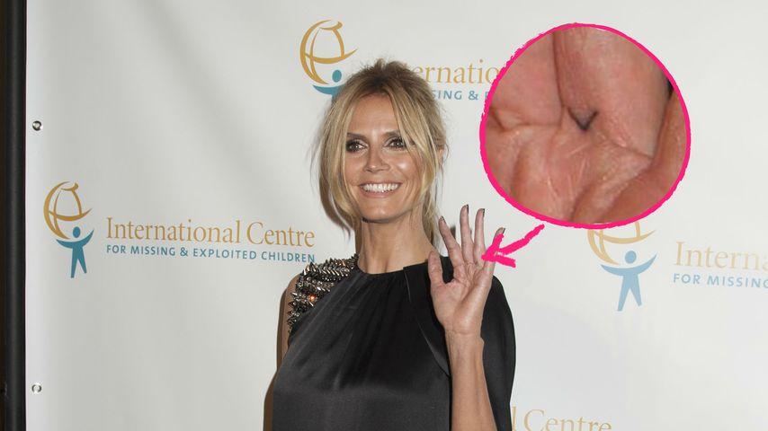 """""""V"""" für Vito: Ist das etwa Heidi Klums neues Liebes-Tattoo?"""