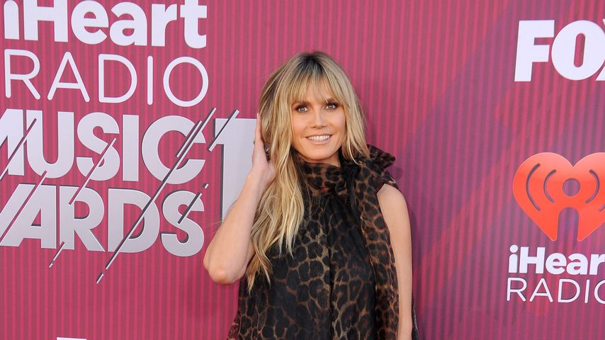 Heidi Klum bei den HeartRadio Music Awards 2019