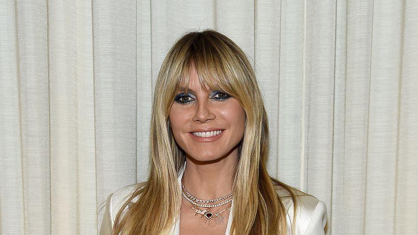 Heidi Klum bei der Fashion-Show von Christian Siriano im Februar 2020
