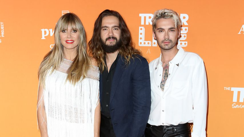 Heidi Klum, Tom Kaulitz und Bill Kaulitz im November 2019 in Beverly Hills