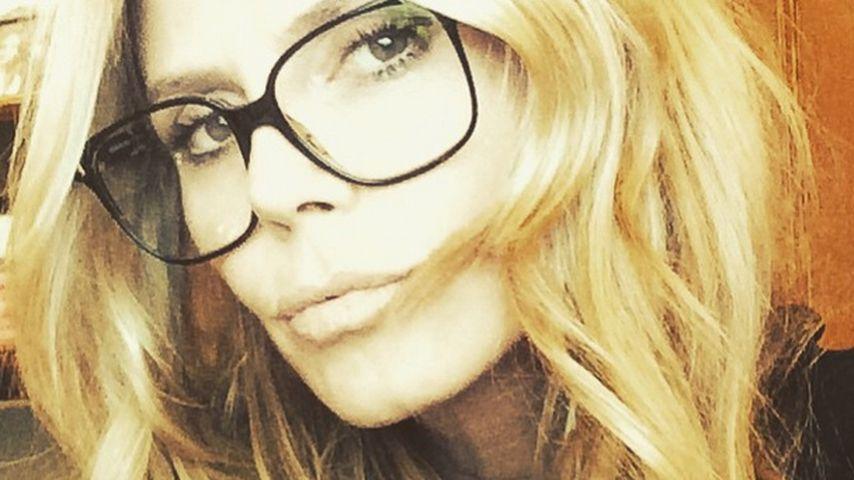 Neuer Topmodel-Look: Heidi Klum trägt jetzt Brille!