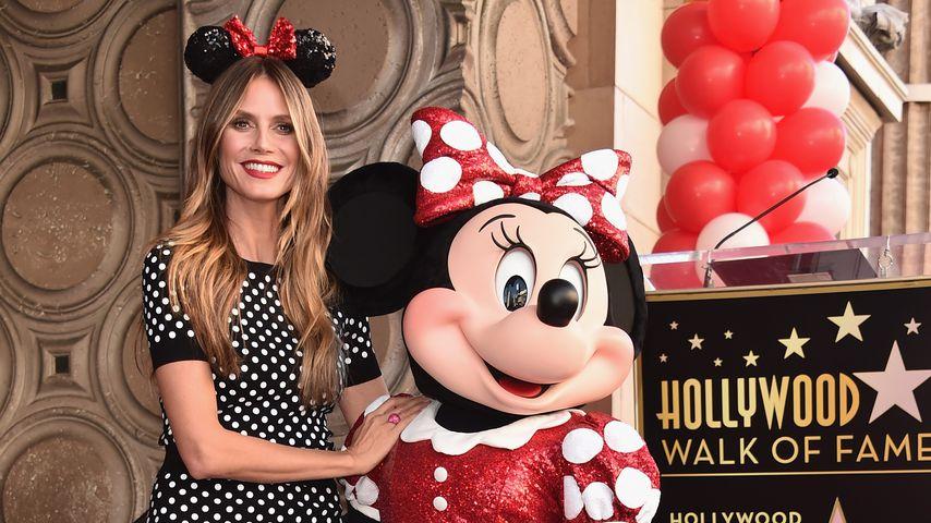 """Mit Heidi & Katy: Minnie Maus bekommt """"Walk of Fame""""-Stern!"""
