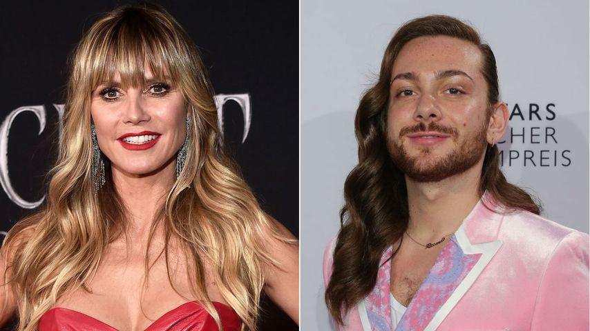 Medien bezeichnen Heidi Klum als Plus-Size: Riccardo wütend