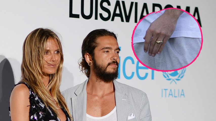 Verdächtiger Ring: Sind Heidi Klum und Tom verheiratet?