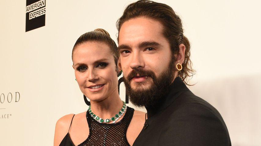 Heidi Klum Und Tom Kaulitz So Erlebten Heidis Kinder Die Hochzeit