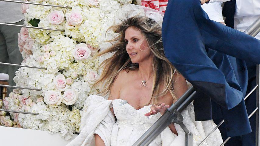 Heidi Klum bei ihrer Hochzeit