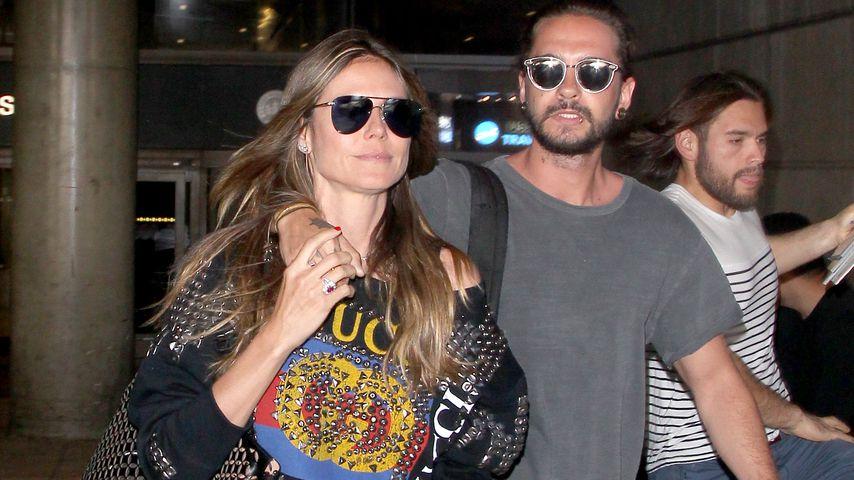Topmodel Heidi Klum und Rocker Tom Kaulitz