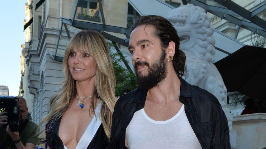 Heidi Klum und Tom Kaulitz beim gemeinsamen Red-Carpet-Auftritt in Paris