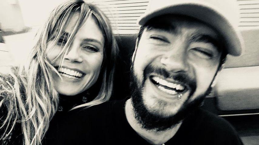 Emoji-Flut: Heidi Klum teilt verrückte Pärchen-Pics mit Tom