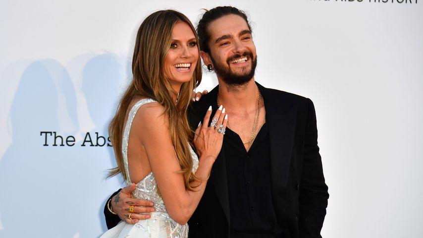 Heidi Klum und Tom Kaulitz im Mai 2018 bei der amfAR Gala in Cannes