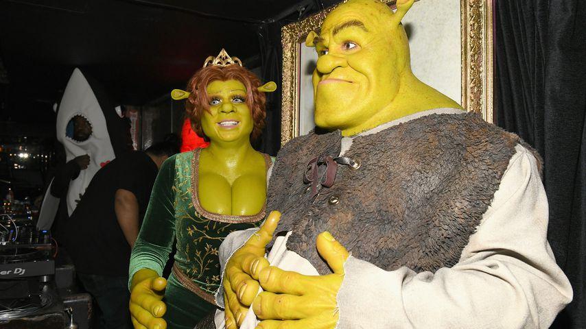 Heidi Klum und Tom Kaulitz bei Heidis 19. Halloween Party in New York