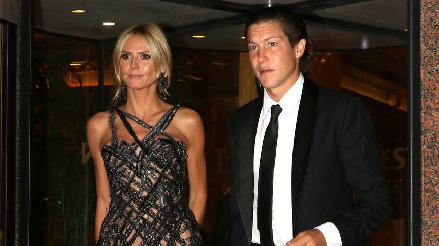 Seltener Auftritt: Heidi Klum zeigt sich mit ihrem Vito