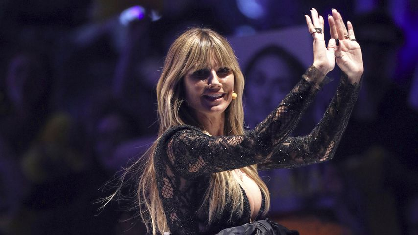 """Heidi Klum beim Finale von """"Germany's next Topmodel"""""""