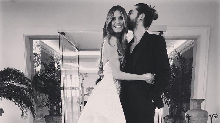 Hochzeitsbild? Sind Heidi Klum und ihr Tom etwa verheiratet?