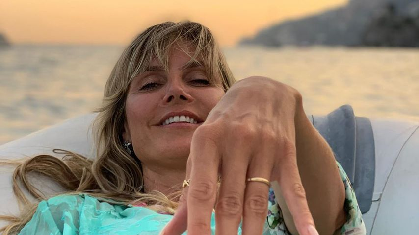 Model-Mama Heidi Klum