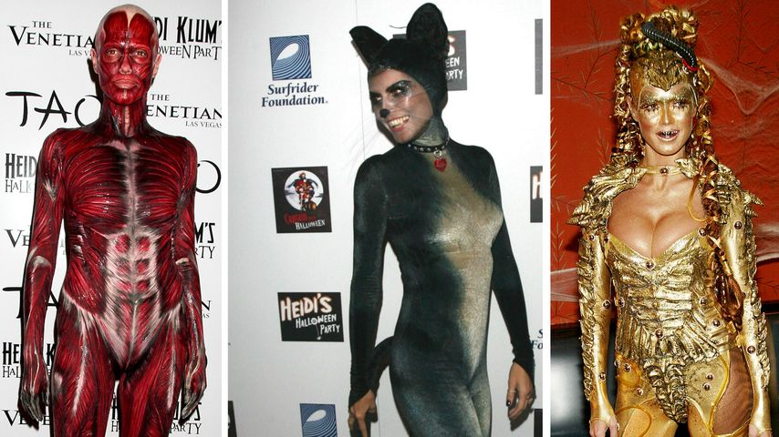 Kostüm-Parade: Heidi Klums 13 verrückte Halloween-Outfits