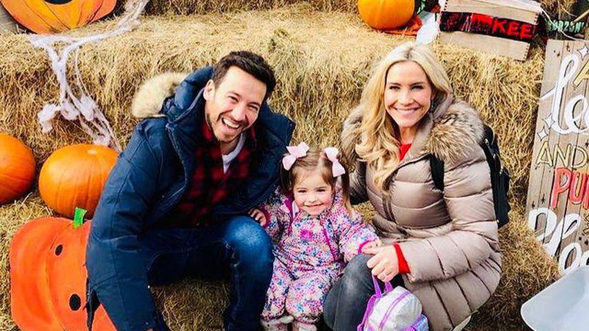 Heidi Range mit Ehemann Alex Partakis und Tochter Aurelia Honey