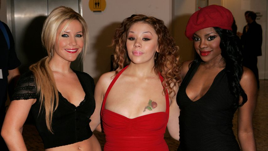 Heidi Range, Mutya Buena und Keisha Buchanan von Sugababes
