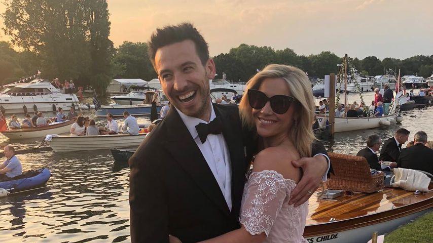 Heidi Range mit ihrem Mann Alex
