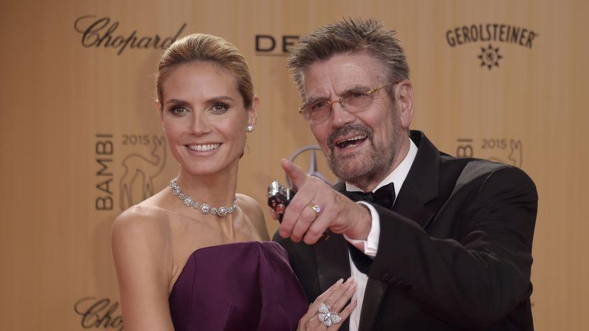 Heidi und Günther Klum bei den Bambi-Awards 2015