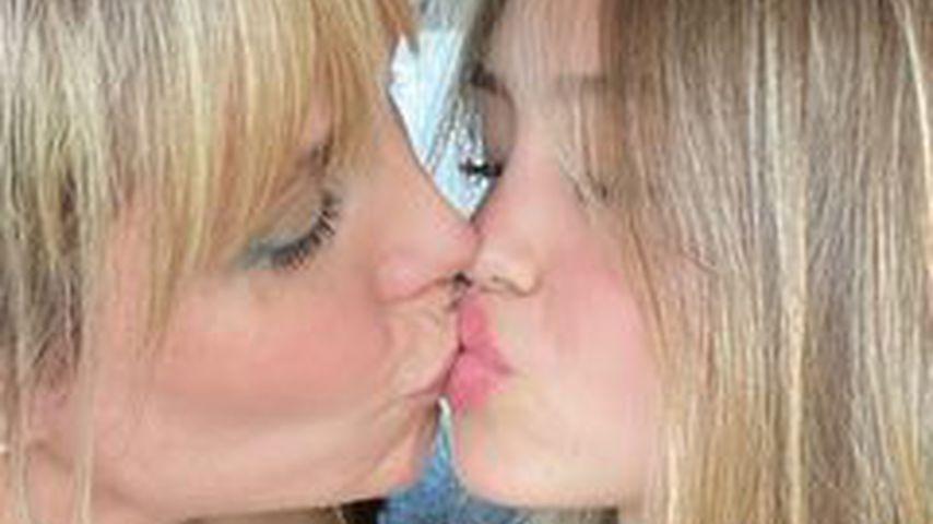 Model Heidi Klum mit Tochter Leni