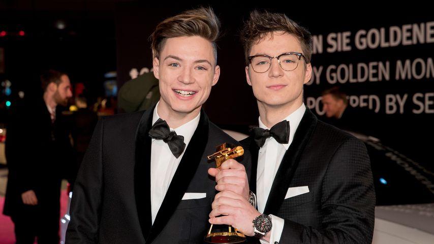 Heiko und Roman Lochmann bei der Goldenen Kamera 2017