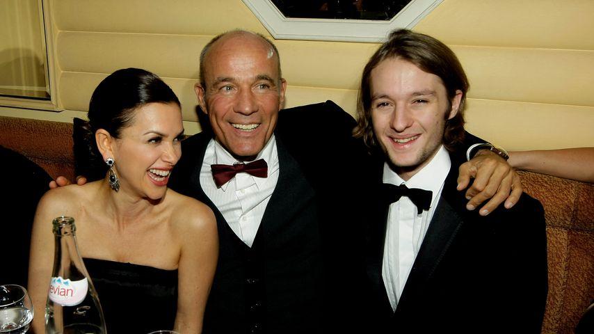 Viktoria, Heiner und Oscar Lauterbach beim Deutschen Filmball, 2009