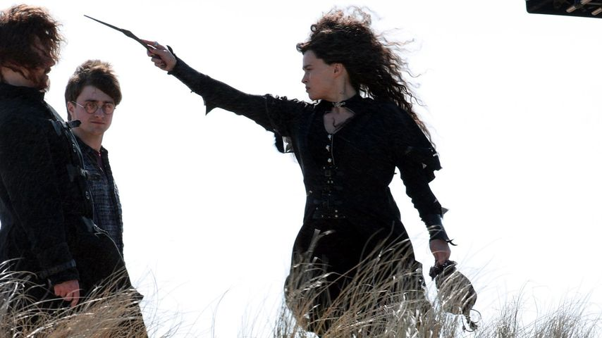 "Helena Bonham Carter als Bellatrix Lestrange in ""Harry Potter"""