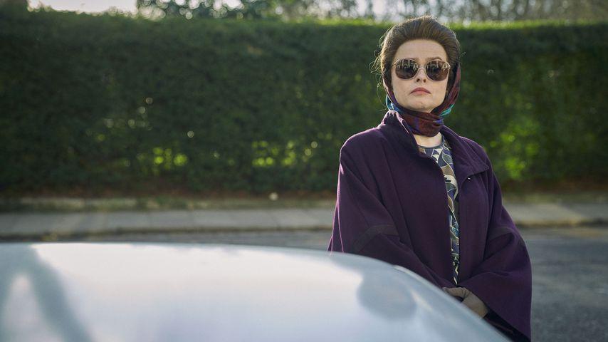 """Helena Bonham Carter als Prinzessin Margaret in der Netflix-Serie """"The Crown"""""""