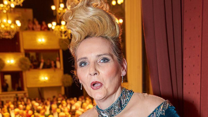 Helena Fürst beim Wiener Opernball 2016