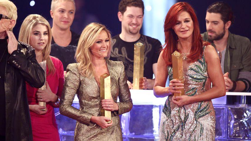 """Helene Fischer und Andrea Berg bei der """"Das große Fest der Besten""""-Show 2014"""