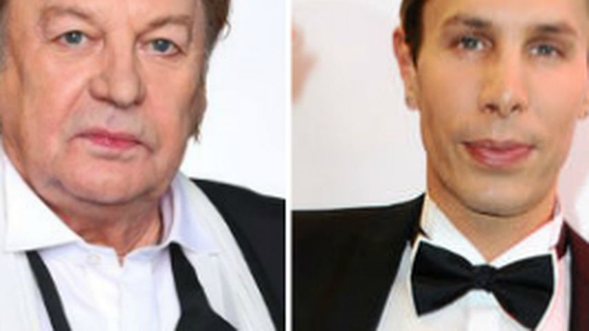 Krass! Helmut Berger liebt den Botox-Boy jr. (33)