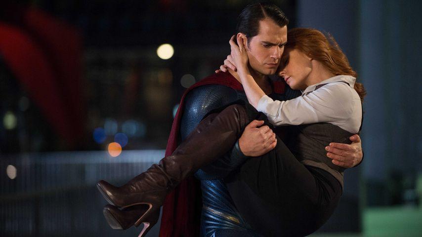 "Henry Cavill und Amy Adams in ""Batman v Superman: Dawn of Justice"""
