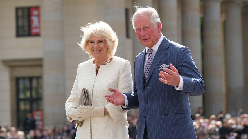 Herzogin Camilla und Prinz Charles in Berlin