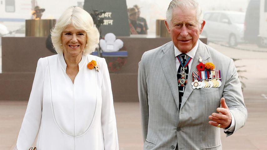 Herzogin Camilla und Prinz Charles bei ihrem Besuch in Indien 2018