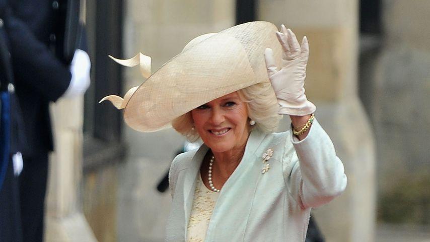 Herzogin Camilla auf der Hochzeit von Prinz William und Herzogin Kate im Jahr 2011