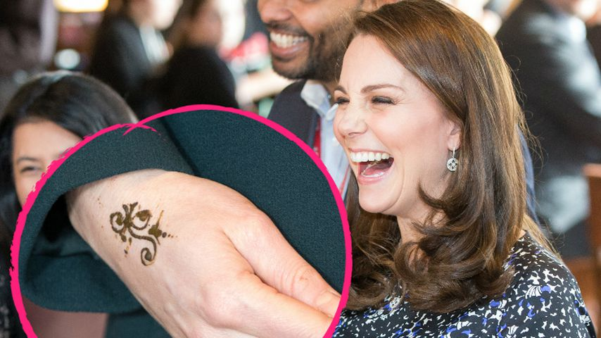 Ist das wirklich echt? Herzogin Kate überrascht mit Tattoo!
