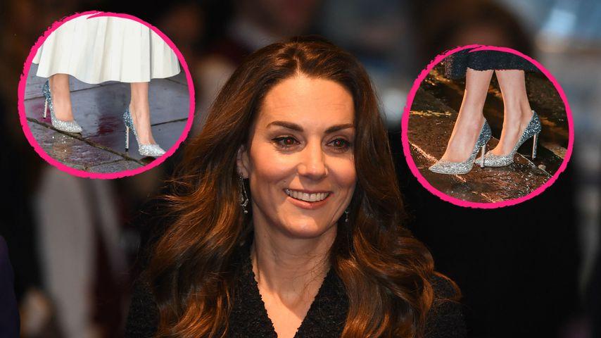Aus Alt mach Neu: Herzogin Kate ist eine Recycling-Queen!
