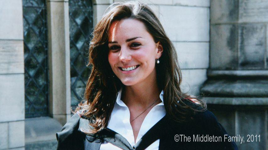 Herzogin Kate an ihrer Abschlussfeier an der Saint Andrews Universität in Schottland