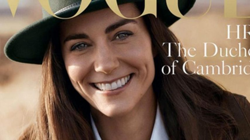 Lässig & strahlend schön! Herzogin Kate als Vogue-Covergirl
