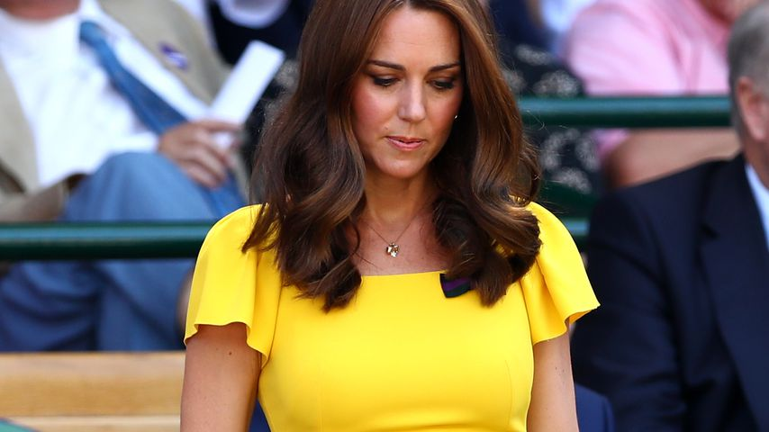 Herzogin Kate beim Männerfinale in Wimbledon 2018