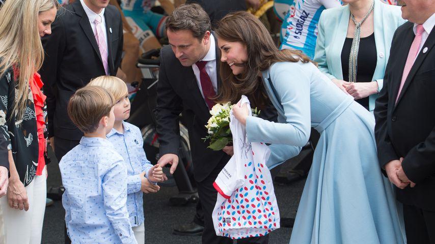 Herzogin Kate während ihres Luxemburg-Besuchs