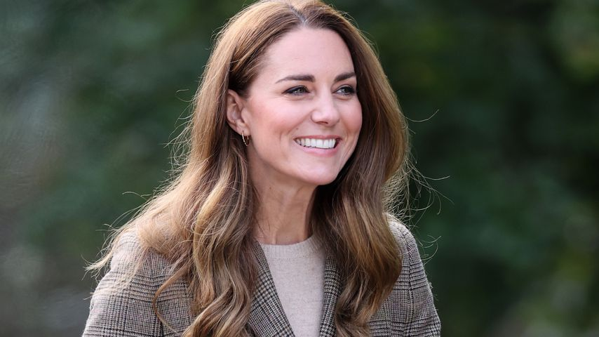 Herzogin Kate am Lake Windermere im September 2021