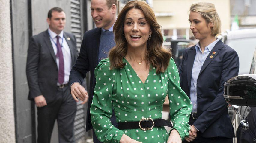 Herzogin Kate bei einem Pubbesuch in Galway im März 2020